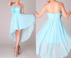 Attractive Strapless High Low Bridesmaid by dressesforparty, $115.00