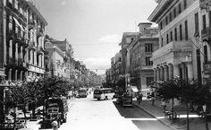 Η οδός Τσιμισκή τη δεκαετία του 50 Greece Pictures, Old Pictures, Old Photos, Old Greek, Thessaloniki, Macedonia, Athens, The Past, Places To Visit
