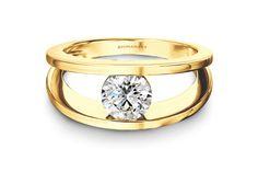 Shimansky Round Brilliant Millennium Ring