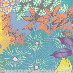 Viscose Javanese - Tropical Floral