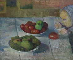 Still Life with a Profile of Mimi Le Pouldu, 1889 Meijer de Haan (1852 - 1895) oil on canvas, 50.2 cm x 61.4 cm Van Gogh Museum, Amsterdam (purchased with support from the BankGiro Lottery)