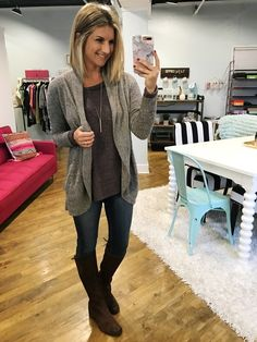 How to wear riding boots // Casual Fall Outfit