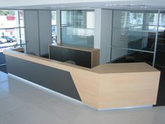 Laminated Reception Counter