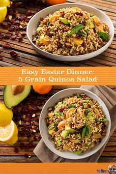 Holiday meal preparation can be stressful, but it doesn't have to be. With our recipe for easy-to-make Spinach, Almond, and Clementine 5 Grain Quinoa Salad using UNCLE BEN'S® 5 Grain Medley, Quinoa Pilaf, you can have a delicious side dish to accompany your Easter dinner – without any additional hassle.