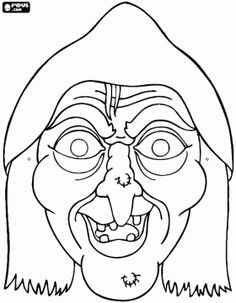 Best Halloween masks coloring pages. Photo Halloween, Halloween Doodle, Pretty Halloween, Fete Halloween, Holidays Halloween, Halloween Themes, Halloween Crafts, Happy Halloween, Halloween Decorations
