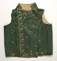 1795-1805, France, Met http://www.metmuseum.org/collection/the-collection-online/search/90989?rpp=30&pg=1&ft=waistcoat&pos=22