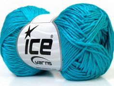 Fiber Content 50% Bamboo, 25% Dralon, 25% Cotton, Turquoise, Brand ICE, Yarn Thickness 2 Fine  Sport, Baby, fnt2-34216