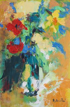 'Spring Posy' by Sylvia Paul.