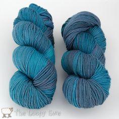 Cobalt Skies in Breathless from Shalimar Yarns at The Loopy Ewe ($30.00)