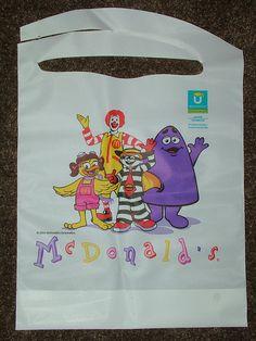mcdonalds from the 70s | mcdonald s bib 2003 i found this bib in a mcdonald s in oregon last ...