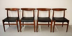 Hans Wegner for C.M. Madsen Dining Chairs | From a unique collection of antique and modern dining room chairs at https://www.1stdibs.com/furniture/seating/dining-room-chairs/