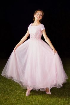 Pink Prom Dresses,Tulle Prom Dress,Fashion Prom Dress,Sexy Party Dress,Custom Made Evening Dress