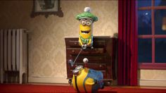 15 Reasons We Wish We Had Minions - #4 Minions excel at sport-like activities.