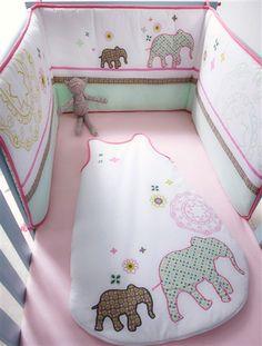 Tour de lit bébé imprimé thème envole-moi | Babies