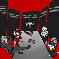 Image result for persona 5 gif