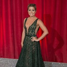 Nikki Sanderson joins celebs on the red carpet at the 2017 British Soap Awards