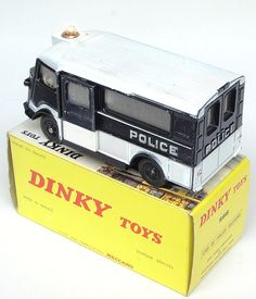 Dinky Toys ~ Citroën Type H 'Police Secours'