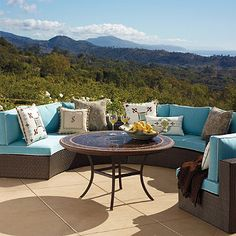 With a new fiber and frame design for 2012, our Melrose Outdoor Collection makes it beautifully easy to create the ultimate open air chat room.
