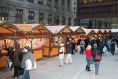Christkindlmarkets are Christmas street markets that originated in Germany and have become a familiar holiday tradition here in The Statesas well.   #LilLakeCo #LakeCountyIL #VisitLakeCounty #Christmas #Christkindlmarket #Barrington