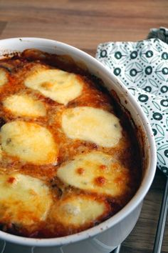 glutenvrije melanzane alla parmigiana vegetarisch