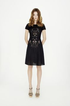 Arroyo Willow Cap Sleeve Dress Spring Summer 2012 - Collette DinniganCollette Dinnigan