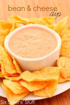 Bean and Cheese Dip Recipe on MyRecipeMagic.com