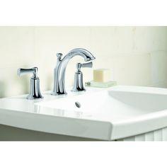 Kohler Elliston Sink : Shop KOHLER Elliston Polished Chrome 2-Handle Widespread WaterSense ...