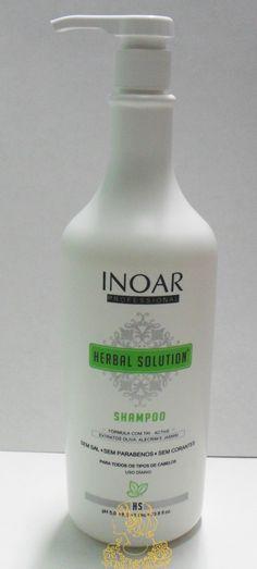 preview beauty fair + produtos recebidos  Shampoo Herbal Solution - Inoar