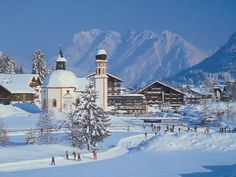 Seefeld, Austria.   Used to go there once a year for cross country skiing.