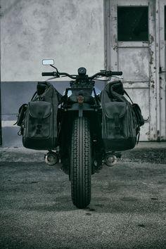 loaded saddle bags... #motorcycle #motorbike