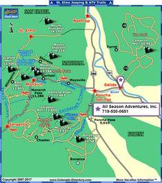 Salida Colorado, Colorado Trail, Colorado Mountains, Colorado Springs, Atv Riding, Horse Riding, Jeep Trails, Trail Maps, Family Adventure