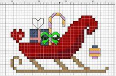 Ponto cruz: Natal Ponto Cruz Mais