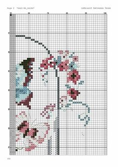Cross Stitch Patterns, Crafts, Cross Stitch Pictures, Hand Embroidery, Embroidered Towels, Butterflies, Animales, Blue Prints, Cross Stitch
