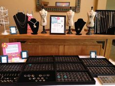 Jewelry bar! Our hostess was able to get all of the items she wanted for free plus her hostess exclusive gift at a killer deal!  Contact us at MifflinLockets.com to book a jewelry bar of your own!
