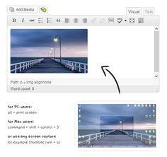 Comment intégrer encore plus simplement des images dans un article WordPress.