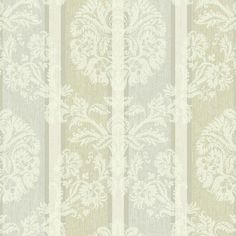 Sample Woven Damask Stripe Wallpaper in Beige design by Carey Lind for... (70 DKK) ❤ liked on Polyvore featuring home, home decor, wallpaper, wallpaper samples, damask home decor, weave wallpaper, sample wallpaper, beige damask wallpaper and woven wallpaper