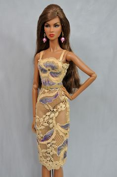 """Outfit only! Fashion for FR2, Nu Face 2.0, Fashion Royalty doll 12"""", Integrity T 