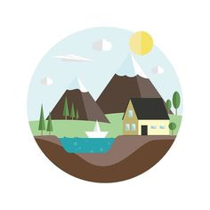 RepostBy @jsndnls: Das Haus am See #house #sea #lowpoly #badge #flat #design #flatdesign #mountains #sky #sun #shine #weather #icon #graphic #creative #instadaily #instagood #picoftheday #paper #fly #water #boat #tree #logoinspirations #logoidea #logonew (via #InstaRepost @AppsKottage) Follow us on Facebook http://ift.tt/1ZBR6Ym