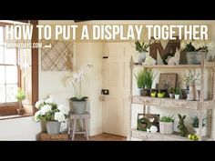 How to put a Display Together - Minnie Days