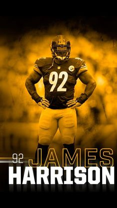James Harrison  92 Pittsburgh Steelers Players 09837a04e