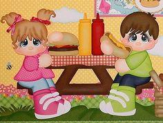 Elite4u pmby Julie Infantil prefabricados Scrapbook Diseño de las páginas 4 álbum Paper Piecing in Artesanías, Colec. de recortes y artesanías de papel, Pág. para álbum de recortes (Prefabric.) | eBay