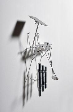bjoern schuelke: media art: sculptures, video- and sound installations, solar art Kinetic Architecture, Art And Architecture, Sound Sculpture, Sound Installation, Sound Art, New Media Art, Kinetic Art, Ex Machina, Instruments