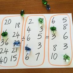 Clever division game to make them think! Fun Games 4 Learning: Equation Maker Games