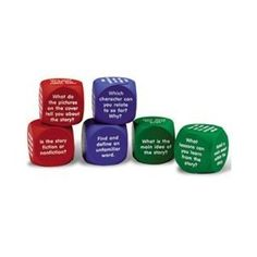 Reading comprehension cubes - Re-pinned by @PediaStaff – Please Visit http://ht.ly/63sNt for all our pediatric therapy pins