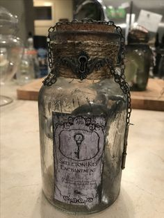 More potion bottles for this season's Witch's market at Shadow's Gate Haunt.
