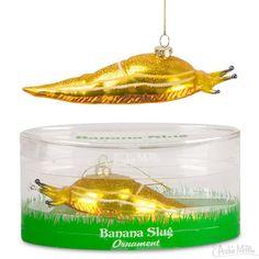 Banana Slug Ornament