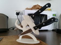 Sparta Knife stand by Alexg - Thingiverse