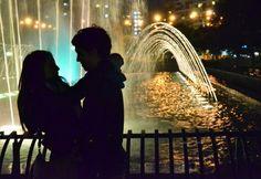 Romántico momento!!