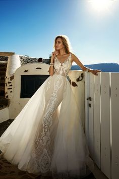 vestido de noiva moderno sereia