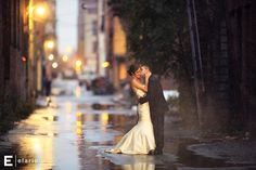 April Showers... beautiful shot... I don't mind getting TOO wet...  ;)